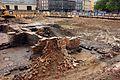 Ausgrabung auf der Baustelle Schloßstraße (07) (26586520782).jpg