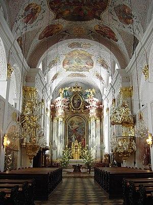 Klagenfurt Cathedral - Image: Austria Klagenfurt Dome 01