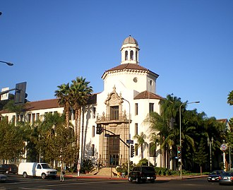 Historic West Adams - Automobile Club of Southern California building, 2008