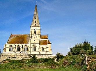 Autrêches - Image: Autrêches église 1