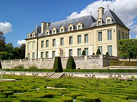 The Château de Leyrit, built in the 17th and 18th centuries