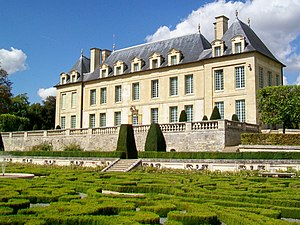 Auvers-sur-Oise - The Château de Leyrit, built in the 17th and 18th centuries