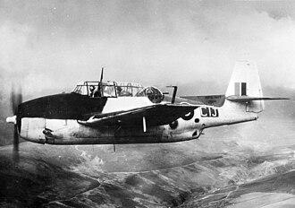 711 Naval Air Squadron - A Grumman Avenger of 711 NAS in flight