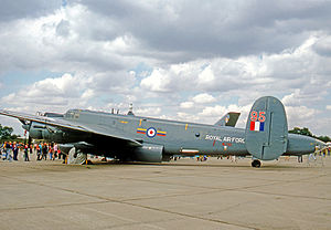 No. 8 Squadron RAF - Avro Shackleton AEW.2 of No.8 Squadron in 1976