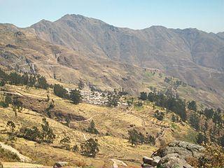 Ayaviri District, Yauyos District in Lima, Peru