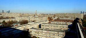 Aylesbury Estate - Image: Aylesbury Estate View