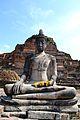 Ayutthaya Thailand Wat Mahathat Buddha Statue.jpg