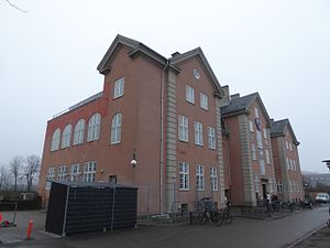 DBU Copenhagen - The building housing the administrative offices of DBU København is shared a member club, Boldklubben af 1893.