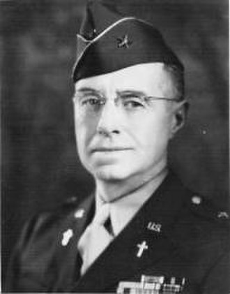 Deputy Chief of Chaplains of the United States Army - Image: BG James H O'Neill