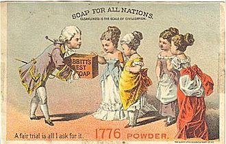 Benjamin T. Babbitt - Babbitt's Soap advertisement