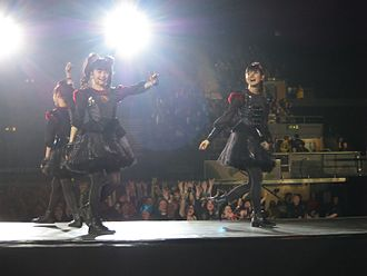 Babymetal - Babymetal performing at Wembley Arena, 2016.