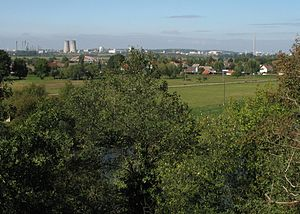Leuna - View from Bad Dürrenberg