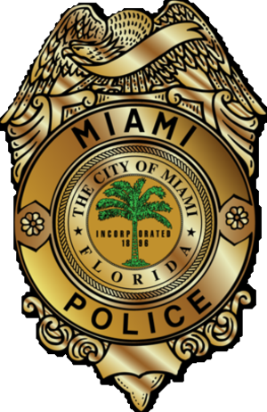 Miami Police Department - Image: Badge of the Miami Police Department