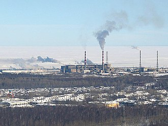 Baykalsk - Baykalsk Paper Mill