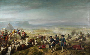 Royal Norfolk Regiment - The Battle of Almansa where the 9th Regiment saw action in April 1707, Ricardo Balaca