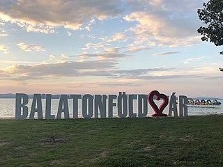Balatonföldvár Town in Southern Transdanubia, Hungary