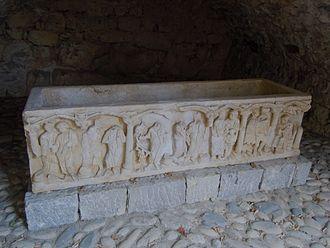 Balazuc - The Balazuc Sarcophagus