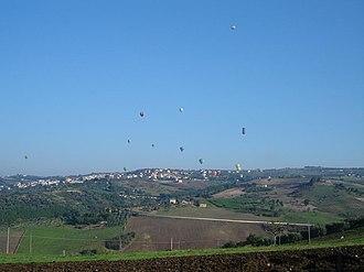 Fragneto Monforte - Image: Balloon 2