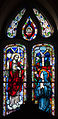 Ballylooby Church of Our Lady and St. Kieran South Transept South Window Revelation of the Sacred Heart to Marguerite Marie Alacoque 2012 09 08.jpg