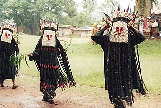 Bamileke people - Bamileke dancers in Batié, West Region