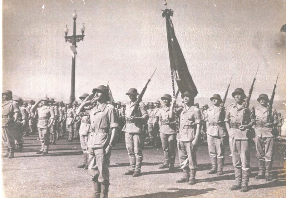 Bandeira Nacional2 da FEB Cia C 1 DE