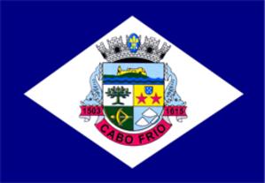 Cabo Frio - Image: Bandeira cabo frio