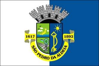 São Pedro da Aldeia - Image: Bandeira de São Pedro da Aldeia