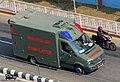 Bangladesh Army Volkswagen Crafter Ambulance (23374996343).jpg