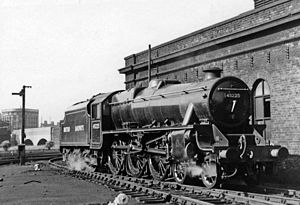 Mixed-traffic locomotive - LMS Stanier Class 5 4-6-0 mixed traffic locomotive