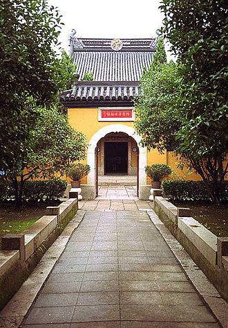Luzhi - The Baoshen Temple, a famous Buddhist temple at Luzhi