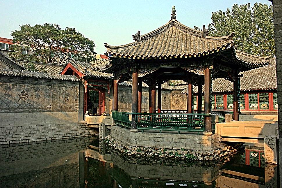 Baotuspring 10000 bamboo garden courtyard 2008 09 14