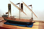 Barbarossa galley in France 1543