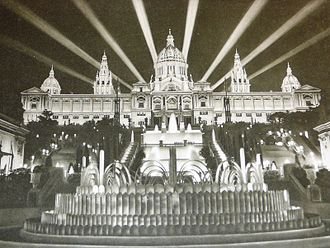 Palau Nacional - The inauguration of the Palau in 1929