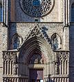 Barcelone - Santa Maria Del Mar - Portail principal.jpg