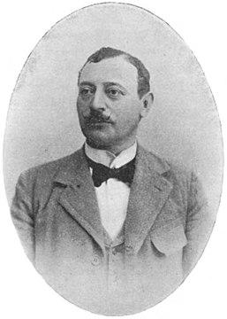Barend Barendse - Onze Tooneelspelers (1899)