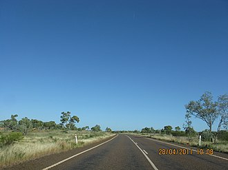 Barkly Highway - Barkly Highway in Queensland