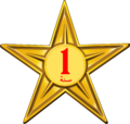 Barnstar of One Year Diligence (Arabic).png