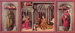 Aix Annunciation - Image: Barthélemy d' Eyck 001