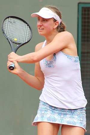 Mona Barthel - Barthel at the 2015 French Open