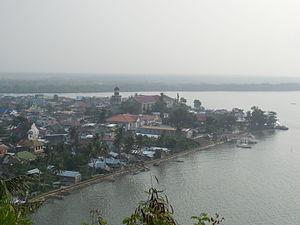 Basey, Samar - Aerial view from Guintolian Hill