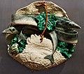 Basket with swordfish, sweet pepper and Portuguese kale (1899) - Rafael Bordalo Pinheiro (1846 - 1905) (48310703156).jpg