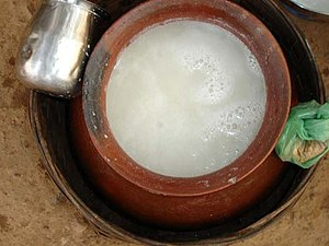 Bastar district - Famous Bastar Beer prepared from Sulfi