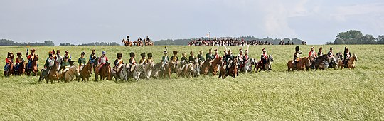 Bataille Waterloo 1815 reconstitution 2011 2