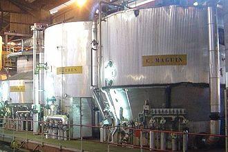 Sugar refinery - Vacuum pans