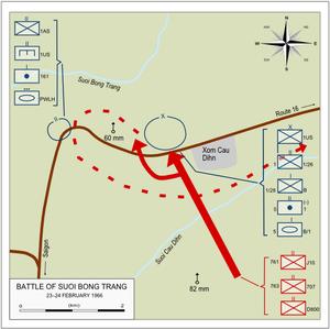 Battle of Suoi Bong Trang 23-24 Feb 1966