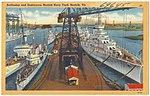 Battleships and Destroyers at Norfolk Navy Yard, Norfolk, VA.jpg
