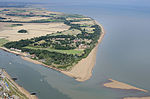 Bawdsey Manor and the mouth of the River Deben aerial-14924955295.jpg