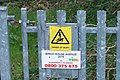 Be Warned^ ... Birch House Avenue, Oughtibridge - geograph.org.uk - 1283698.jpg