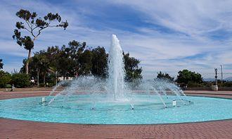Bea Evenson Fountain - The fountain in 2016