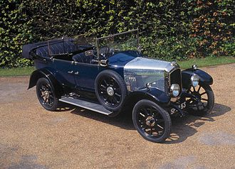 William Beardmore and Company - Beardmore 12/30 Tourer, 1925
